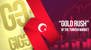 """Gold buzz"" in Turkey"