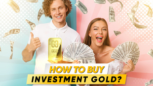 A strategy for creating a gold reserve