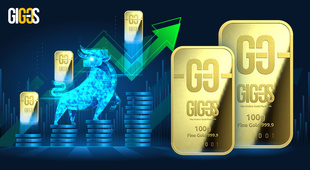 Gold: the price rises — the world buys