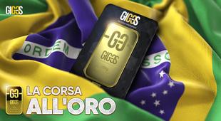Contrastare la crisi: Il Brasile scommette sull'oro