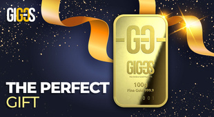 The ideal gift — a gold bar!