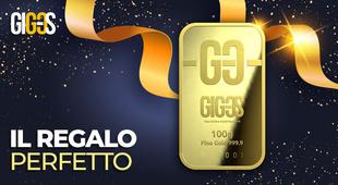 Il regalo ideale: un lingotto d'oro!